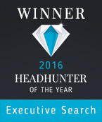 Logo Winner Headhunter of the Year 2016